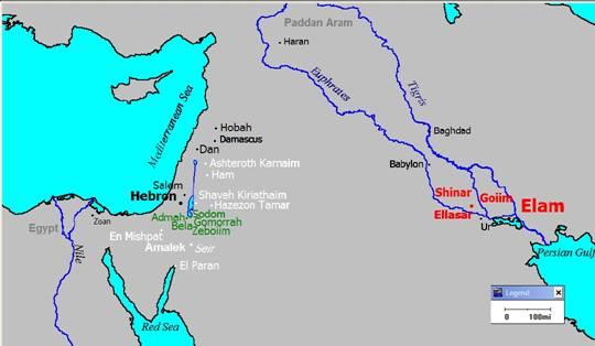 Map courtesy of Calvary Fullerton